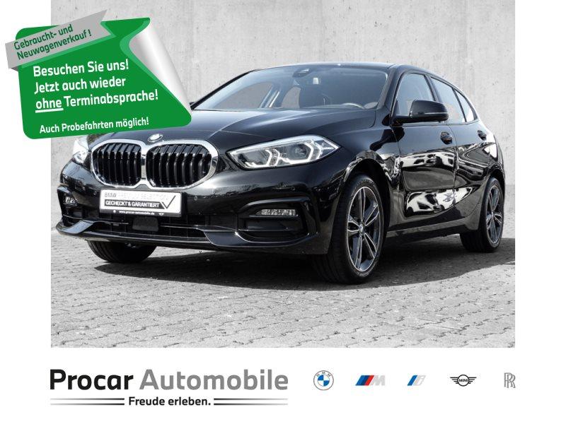 BMW 116d SPORTLINE+NAVI+LIVE+LED+PDC+SHZ+SPORTSITZ, Jahr 2019, Diesel
