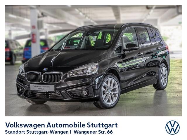 BMW 218d Gran Tourer Advantage Navi LED AHK Kamera, Jahr 2016, Diesel