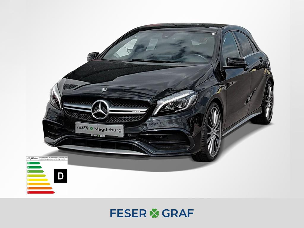 Mercedes-Benz A 45 AMG NAVI/LED/8-fach-bereift/PANO, Jahr 2017, Benzin