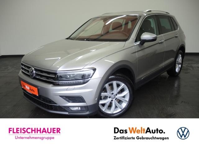 Volkswagen Tiguan Highline BMT 2.0 TDI EU6d-T, Jahr 2020, Diesel