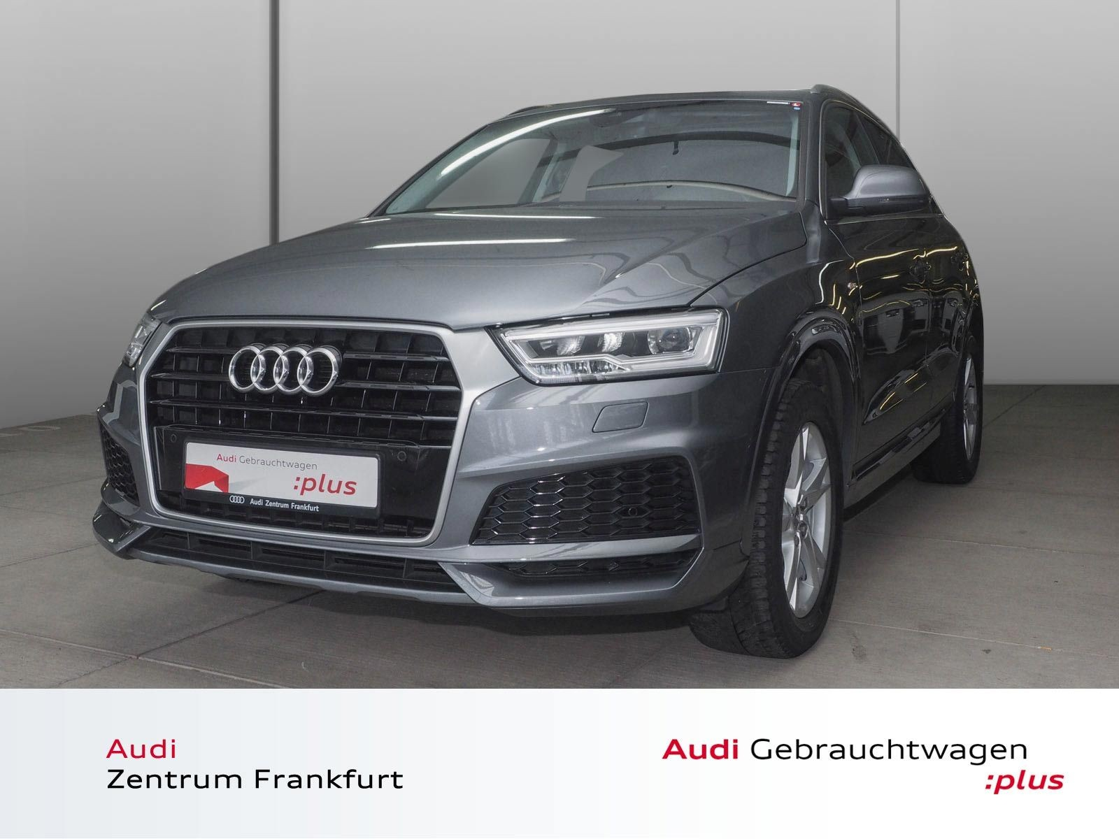 Audi Q3 2.0 TDI S tronic S line LED Navi Tempomat Panorama, Jahr 2017, Diesel