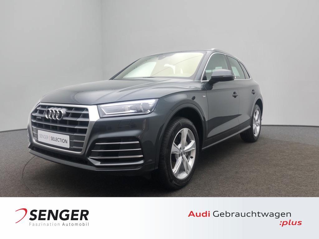 Audi Q5 Design 2.0TDI quattro Navi Leder S line Stadt, Jahr 2018, Diesel