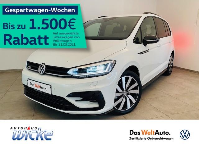 Volkswagen Touran Highline 1.5 TSI DSG R-Line ACC LED Navi, Jahr 2019, Benzin
