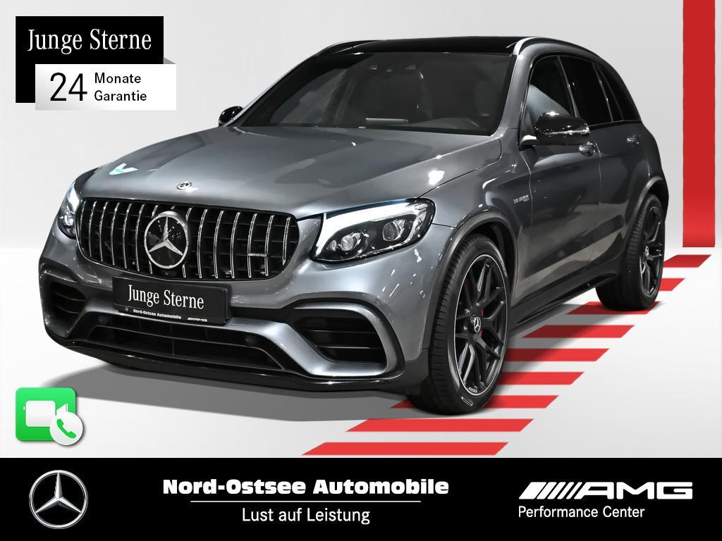 Mercedes-Benz GLC 63 S 4M AMG COMAND LED Pano 360° Burmester, Jahr 2018, Benzin