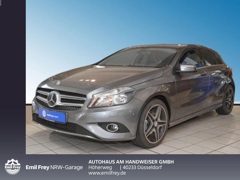 Mercedes-Benz A 180 (BlueEFFICIENCY) Style,Park-Assist.,Navi,Sitzheizung, Jahr 2014, Benzin