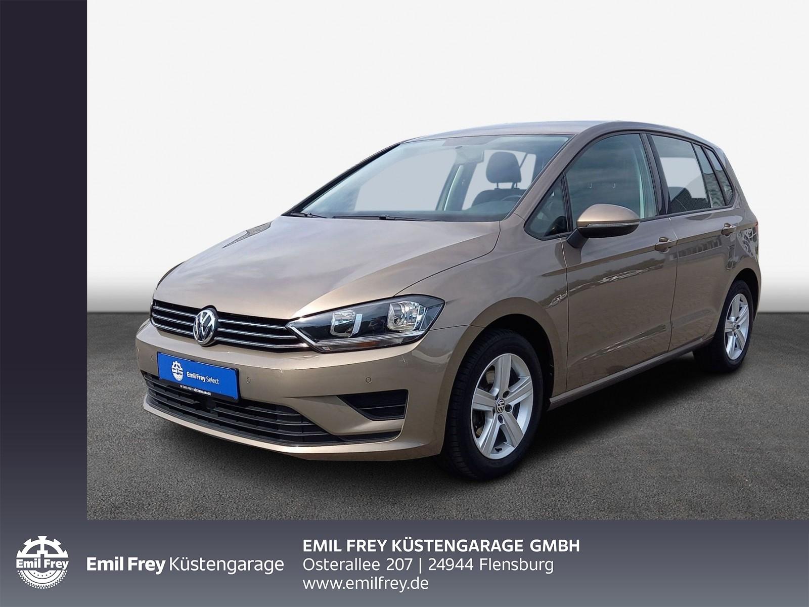 Volkswagen Golf Sportsvan 1.6 TDI -Comfortline- 5-Gang AHK/ Klima/ PDC/ SHZ, Jahr 2014, Diesel