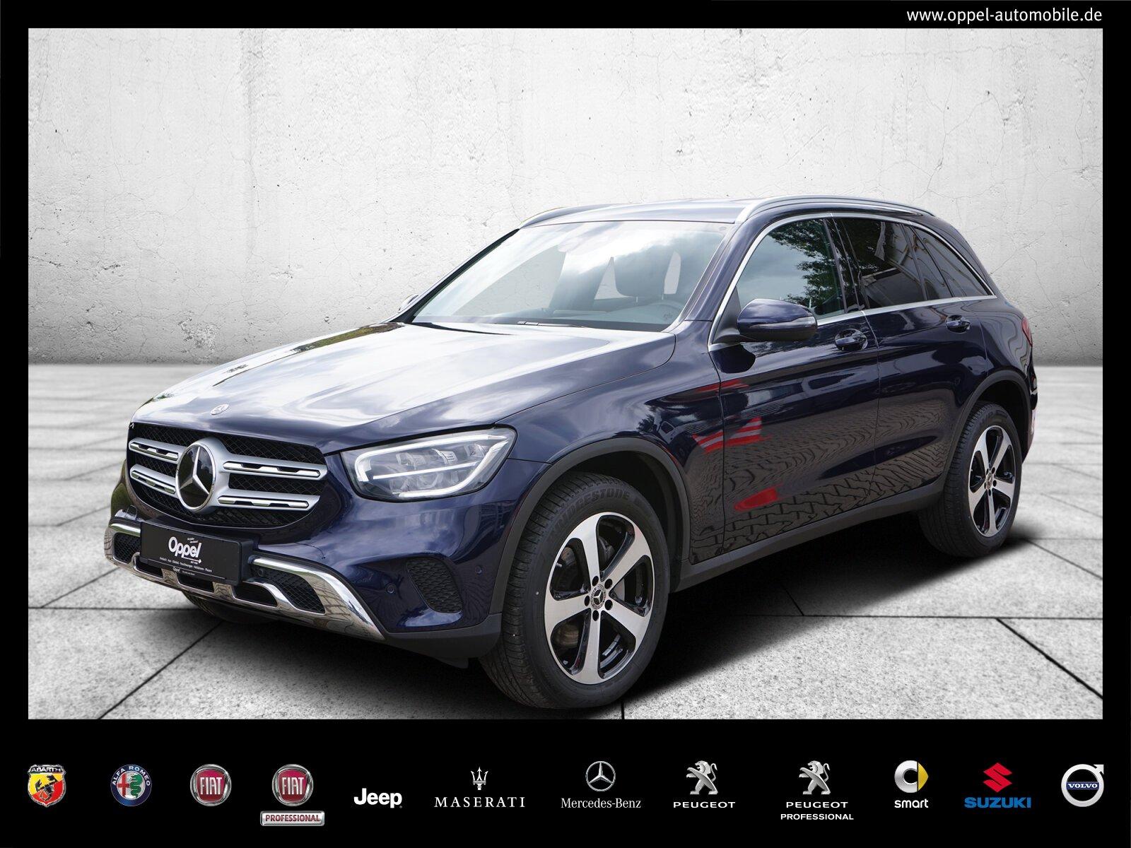 Mercedes-Benz GLC 300 d 4M DISTRONIC PLUS+AHK+KAMERA+NAVI+LED, Jahr 2020, Diesel