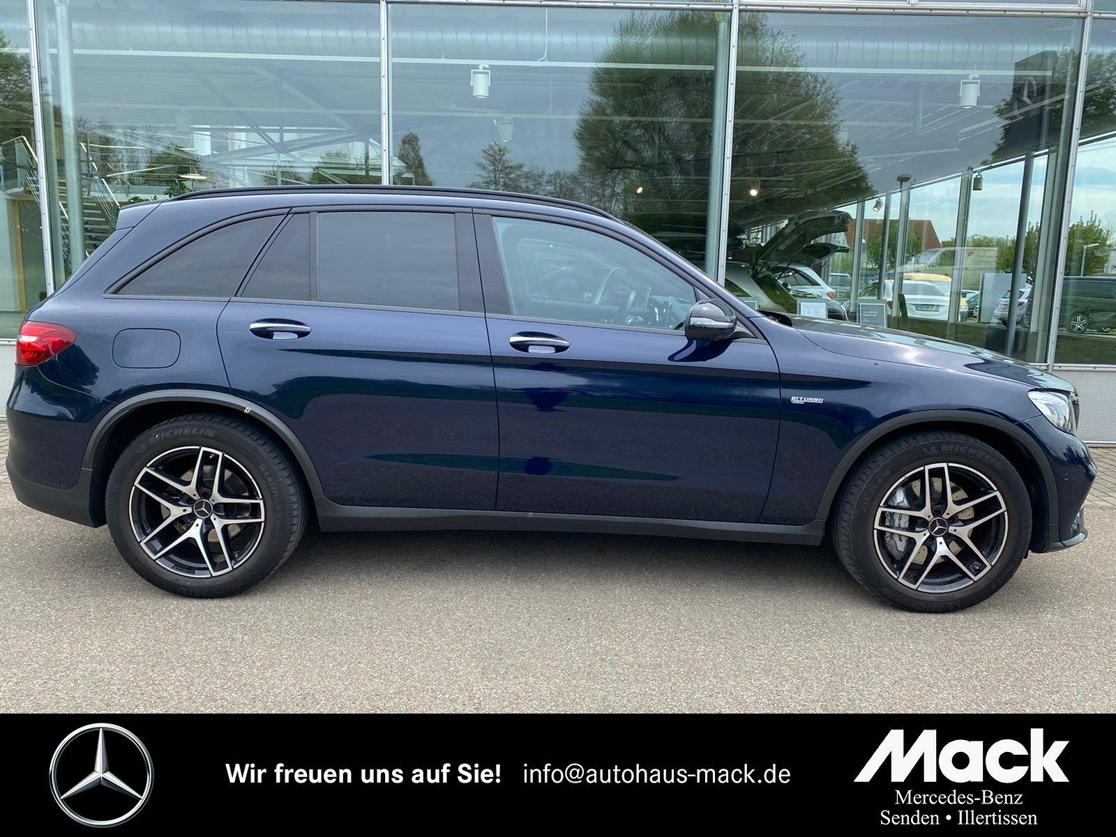 Mercedes-Benz GLC 43 AMG 4MATIC Leder+LED-ILS+Pano.+DISTRONIC, Jahr 2017, Benzin