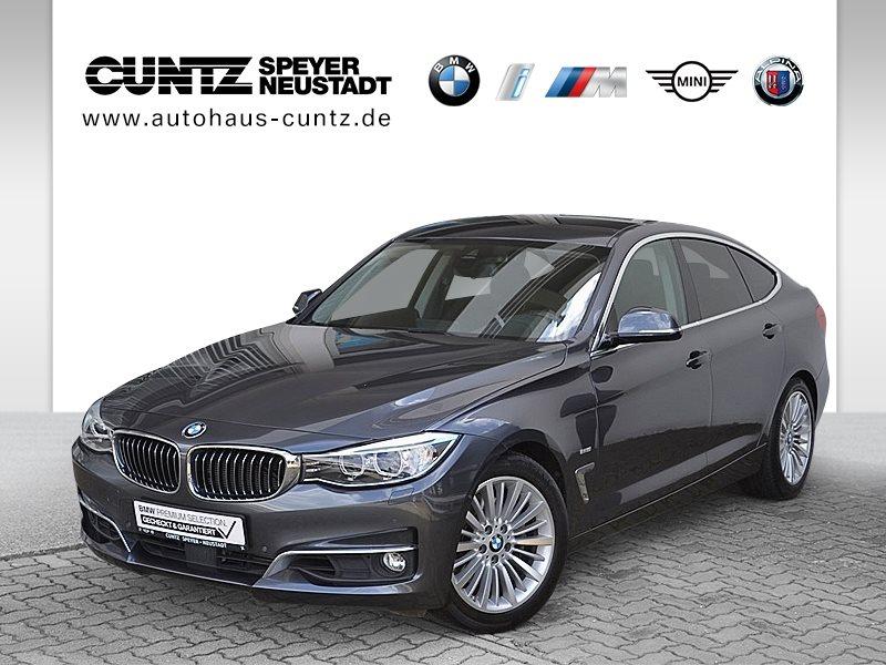 BMW 335i Gran Turismo Luxury Line Head-Up HK HiFi, Jahr 2016, petrol