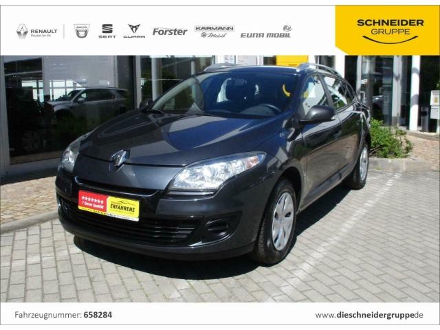 Renault Megane Grandtour Je t aime 1.6 16V 100, Jahr 2012, Benzin