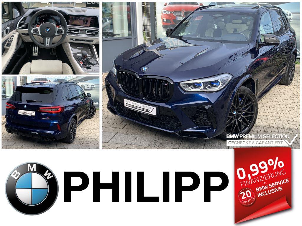 BMW X5 M Drivers P. Laser Massage TV Ak. Sitzbelüft., Jahr 2020, Benzin