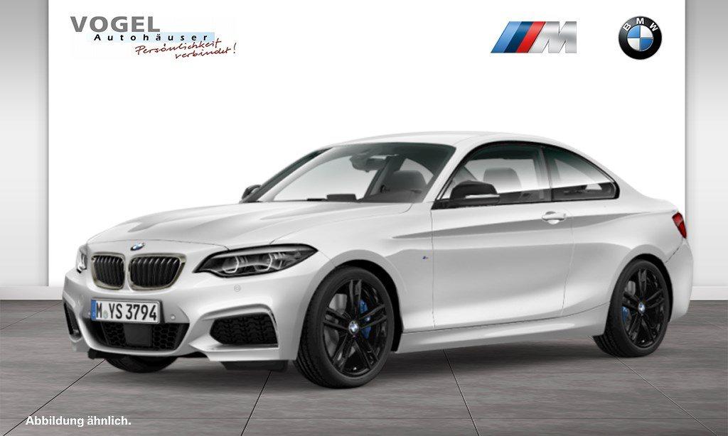 BMW M240i xDrive Coupé Euro 6 Navi Prof RFK PDC Klima Shz LED Aktiver Tempomat Lichtpaket, Jahr 2018, Benzin