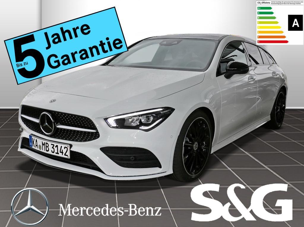 Mercedes-Benz CLA 220 Shooting Brake d AMG-Line LED/Pano/RFK/N, Jahr 2019, Diesel