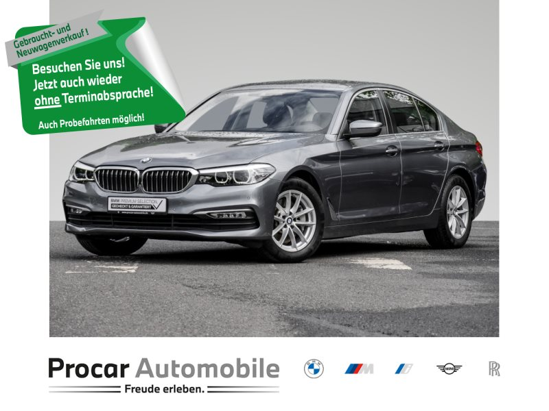 BMW 530d NAVI PROF+LED+AHK+HEADUP+SITZHZNG+KLIMAAUT., Jahr 2018, Diesel