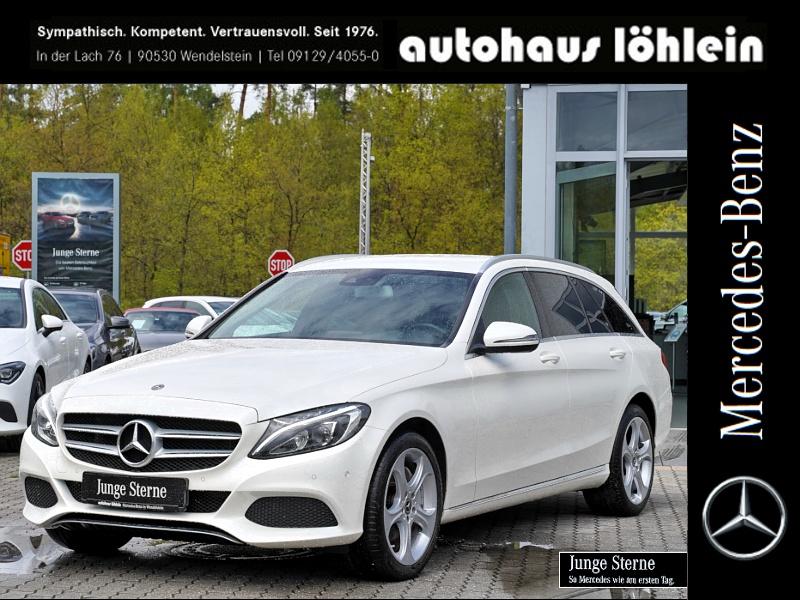 Mercedes-Benz C 250 T Avantgarde+Burmester+Spur-P.+LED+Kamera, Jahr 2018, Benzin