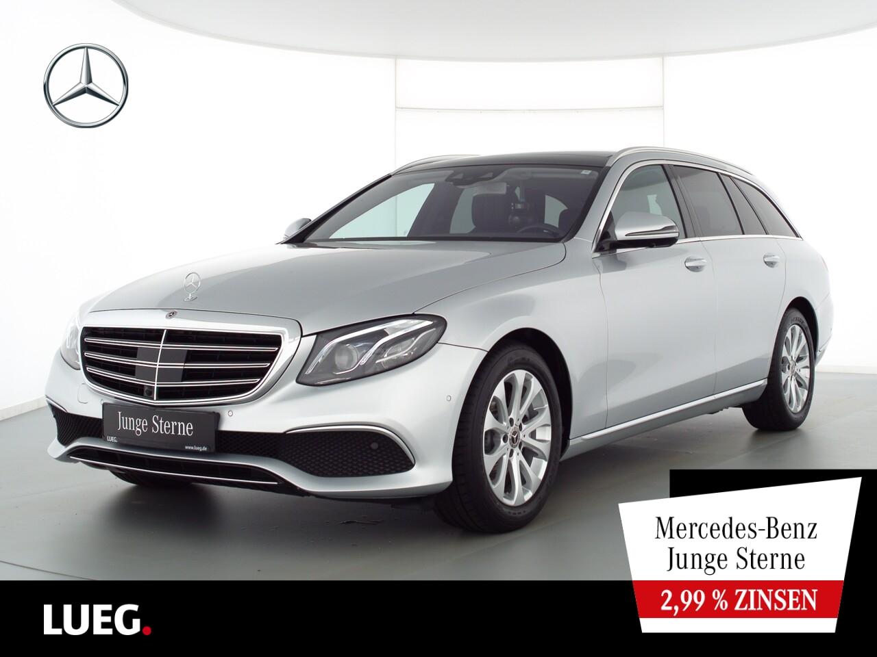 Mercedes-Benz E 200 T 4M Exclusive+COM+Pano+Burm+Mbeam+Mem+360, Jahr 2018, Benzin