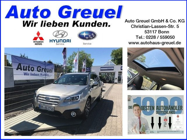 Subaru Outback 2.0D AT Sport 1800 kg Zuglast, Jahr 2016, Diesel