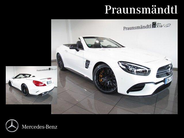 Mercedes-Benz SL 63 AMG Keramik/DISTRONIC/Vmax/B&O/Carbon/KeyG, Jahr 2018, petrol