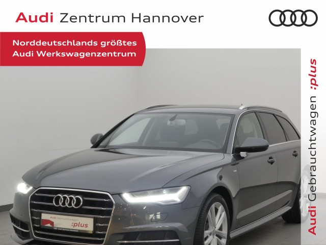 Audi A6 Avant 2.0 TDI Tiptronic LED AHK Navi Kamera Sportsitz, Jahr 2018, Diesel