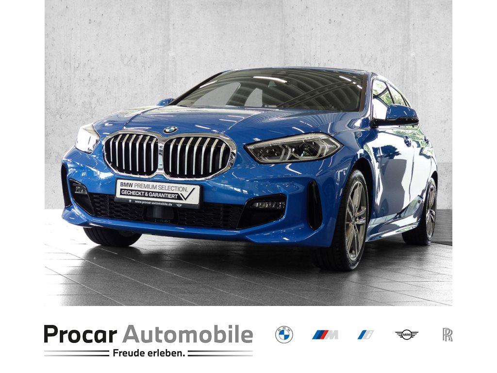 BMW 116d M SPORT+NAVI PLUS+AUTOMAT+DAB+WLAN+PDC+KLIMAAUT+FINab0,01%!, Jahr 2020, Diesel