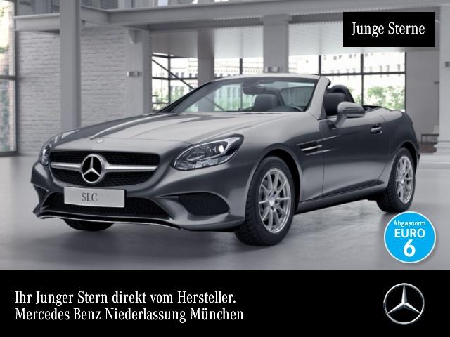Mercedes-Benz SLC 180 Pano Temp, Jahr 2016, petrol