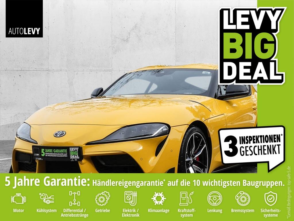 Toyota Supra 3.0 GR Yellow Edition *NAVI*CAMERA*SITZHEI, Jahr 2019, Benzin