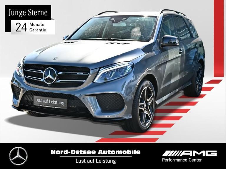 Mercedes-Benz GLE 43 AMG 4M Comand Distronic AHK Night Kamera, Jahr 2018, Benzin