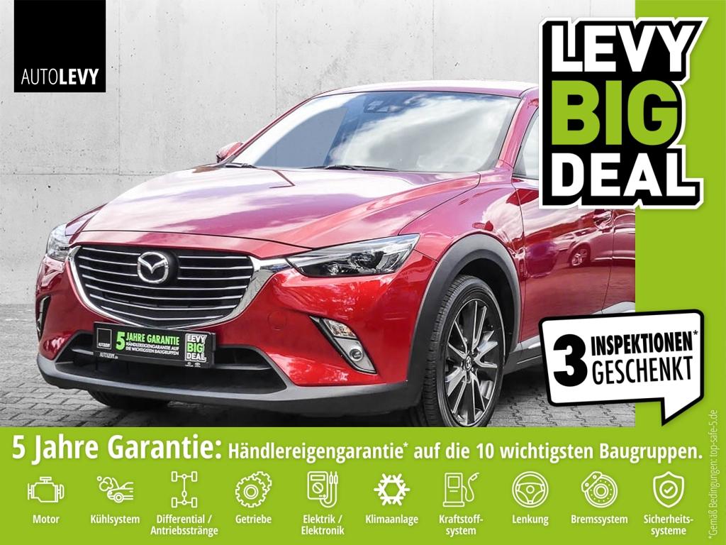 Mazda CX-3 Skyactive-D Sports-Line *HUD*Navi*Kamera*, Jahr 2016, Diesel