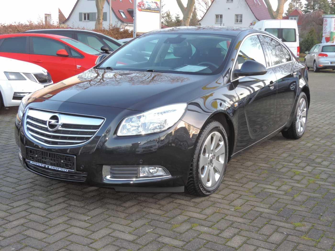 Opel Insignia 2.0 CDTI Edition, Jahr 2012, diesel