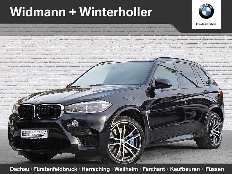 BMW X5 M M Drivers P. Head-Up DAB LED Standhzg. RFK, Jahr 2016, petrol