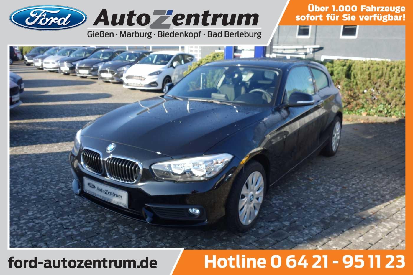 BMW 1er - 118 i 3-Türer Advantage PDC/Klima, Jahr 2016, Benzin