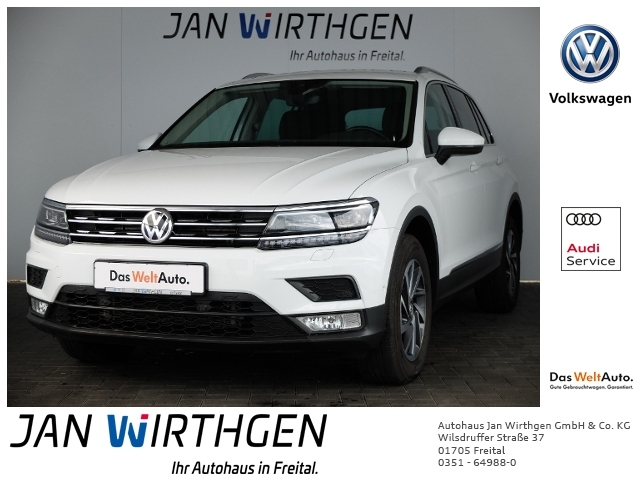 Volkswagen Tiguan 2.0 TDI 4Motion Sound *AHZV*KAMERA*, Jahr 2017, Diesel