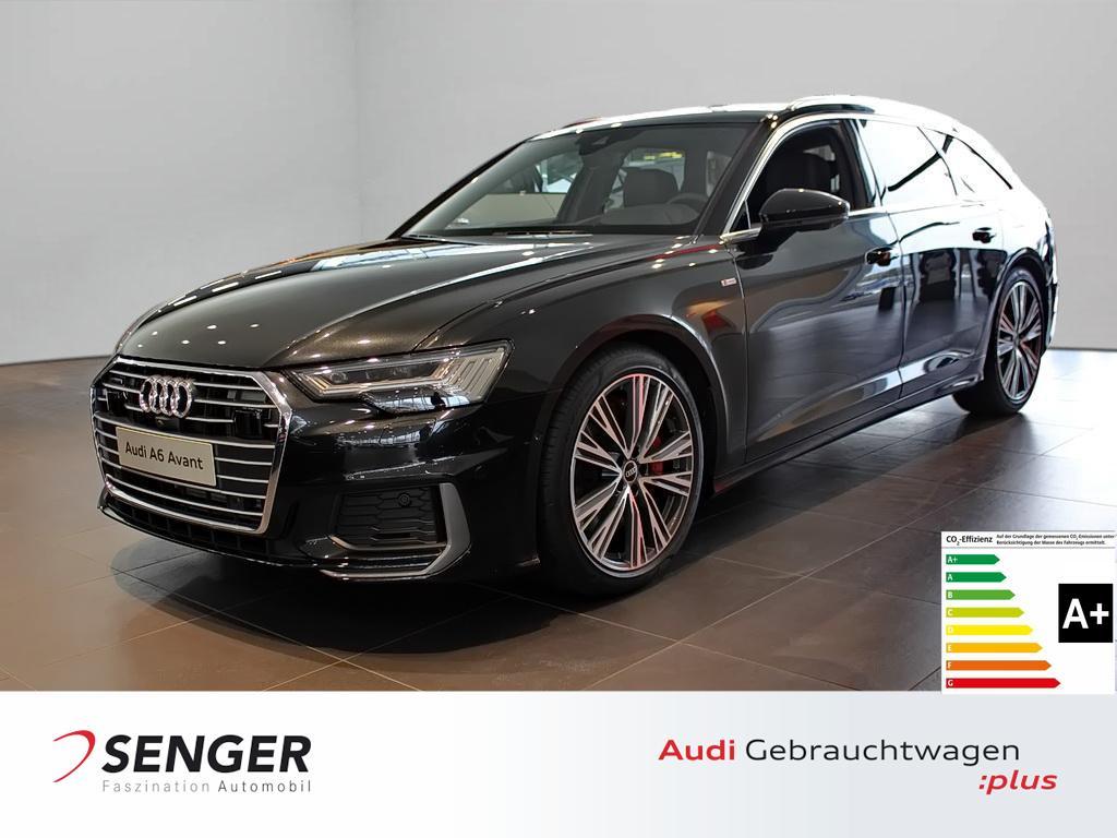 Audi A6 Avant sport 55 TFSI e quattro Navi Tour Stadt, Jahr 2021, Hybrid