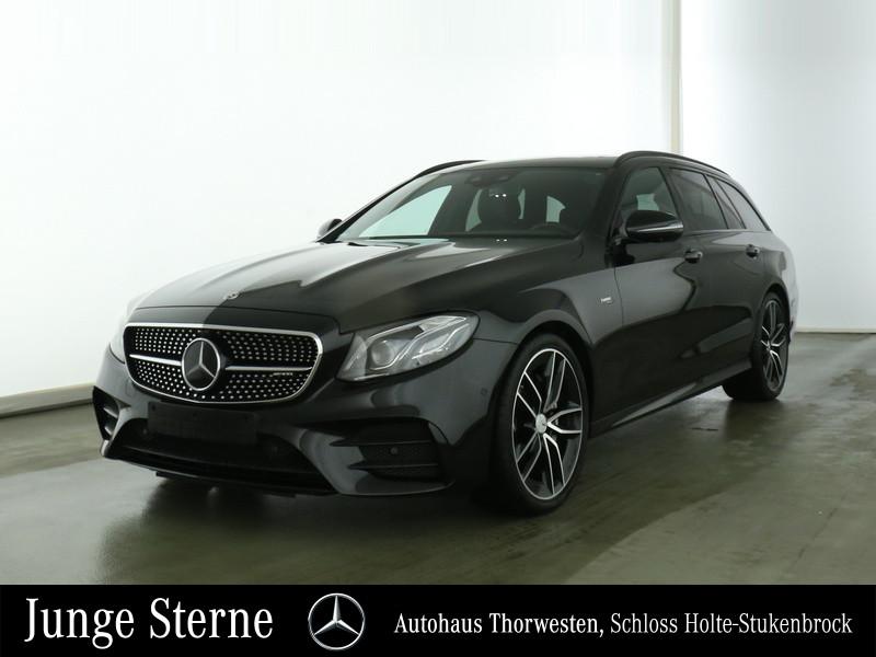 "Mercedes-Benz M-AMG E 53 4MATIC+ T DISTR+ 20"" SD 360° DAB LED, Jahr 2019, petrol"