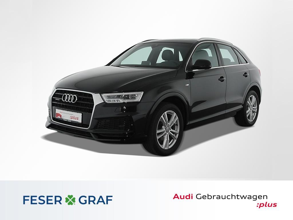 Audi Q3 2.0TDI qu.S tro 3x S Line Pano,LED,Navi,Leder, Jahr 2017, Diesel