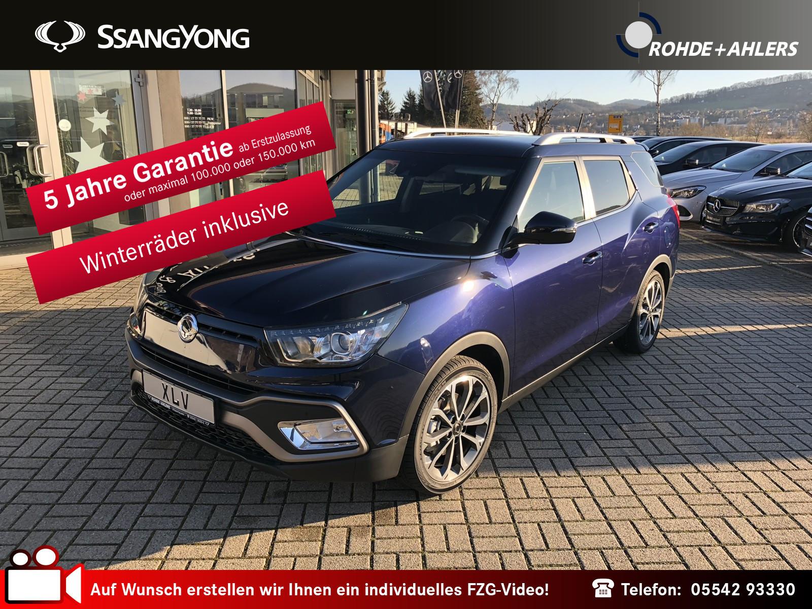 Ssangyong XLV 1.6 e-XGi Forward 2WD NAVI+KAMERA+EINPARKASS, Jahr 2018, Benzin