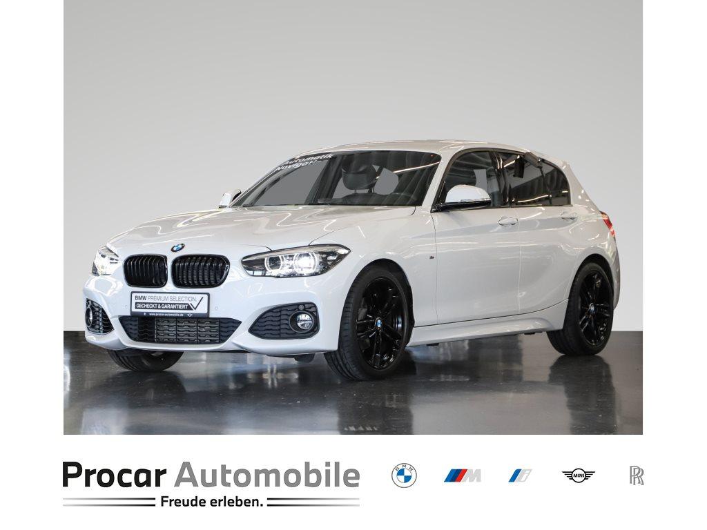 BMW 118i 5-Türer Aut M-Sport Navi LED Shz PDCv+h 18, Jahr 2018, Benzin