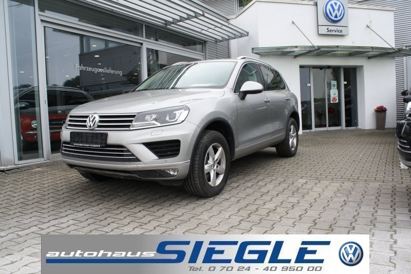 Volkswagen Touareg 3.0 TDI Leder*Navi*Xenon*AHK*PDC*Mod.2016, Jahr 2015, Diesel