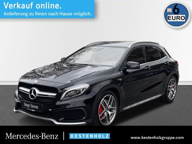 Mercedes-Benz GLA 45 AMG 4Matic KAMERA+COMAND+PANO+ILS+MEMORY, Jahr 2015, Benzin