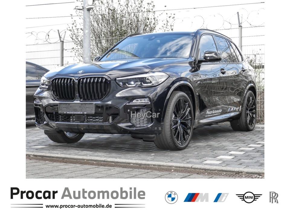 BMW X5 xDrive45e Navi Leder Glasdach Xenon LED Scheinwerfer, Jahr 2021, Hybrid