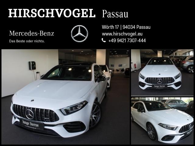 Mercedes-Benz A 45 AMG 4M+ Night+Pano+DISTRONIC+MULTIBEAM+MBUX, Jahr 2019, Benzin