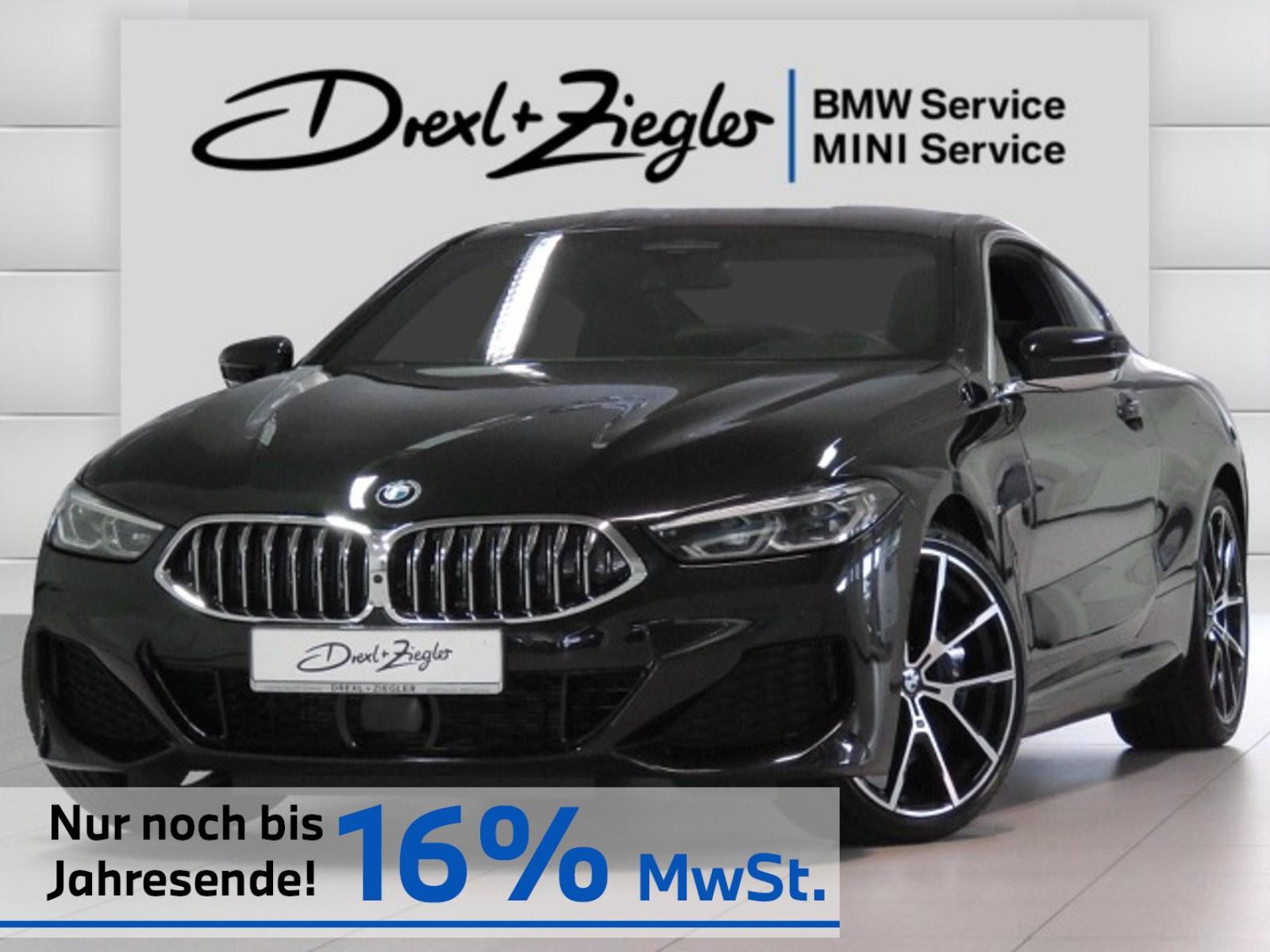 BMW 840d xDrive Coupe M Sport Laser H&K Indiv.Leder, Jahr 2019, Diesel