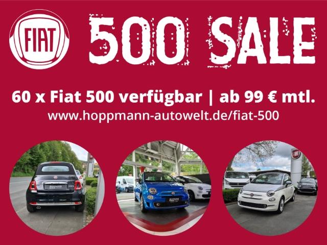 Fiat 500S 500 Sport 1.0,Klima,PDC,Nebel,Carplay,uvm..., Jahr 2021, Benzin