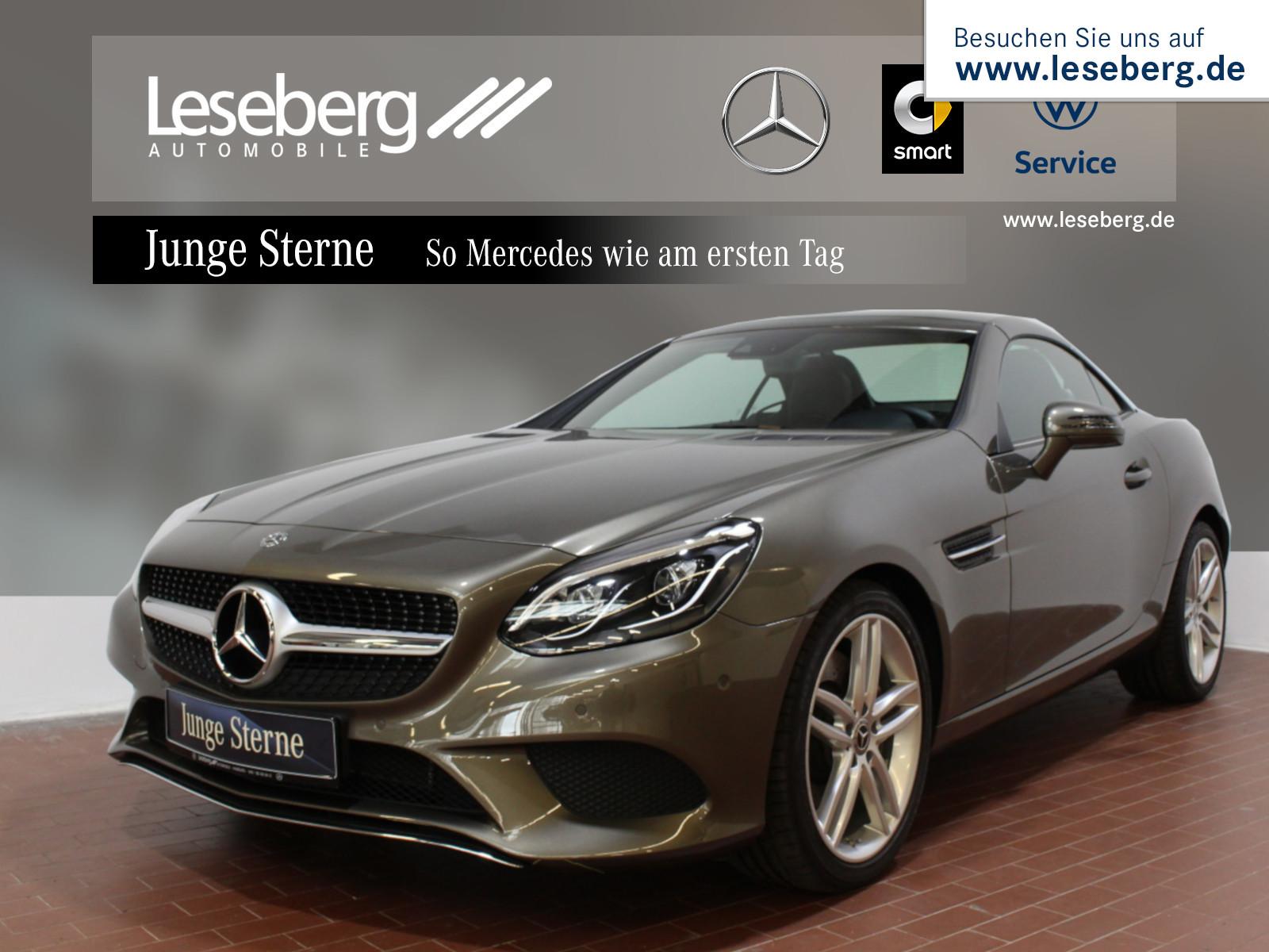 Mercedes-Benz SLC 200 Sport-Paket/LED/PTS/Navi/Totw/Airscarf, Jahr 2018, petrol
