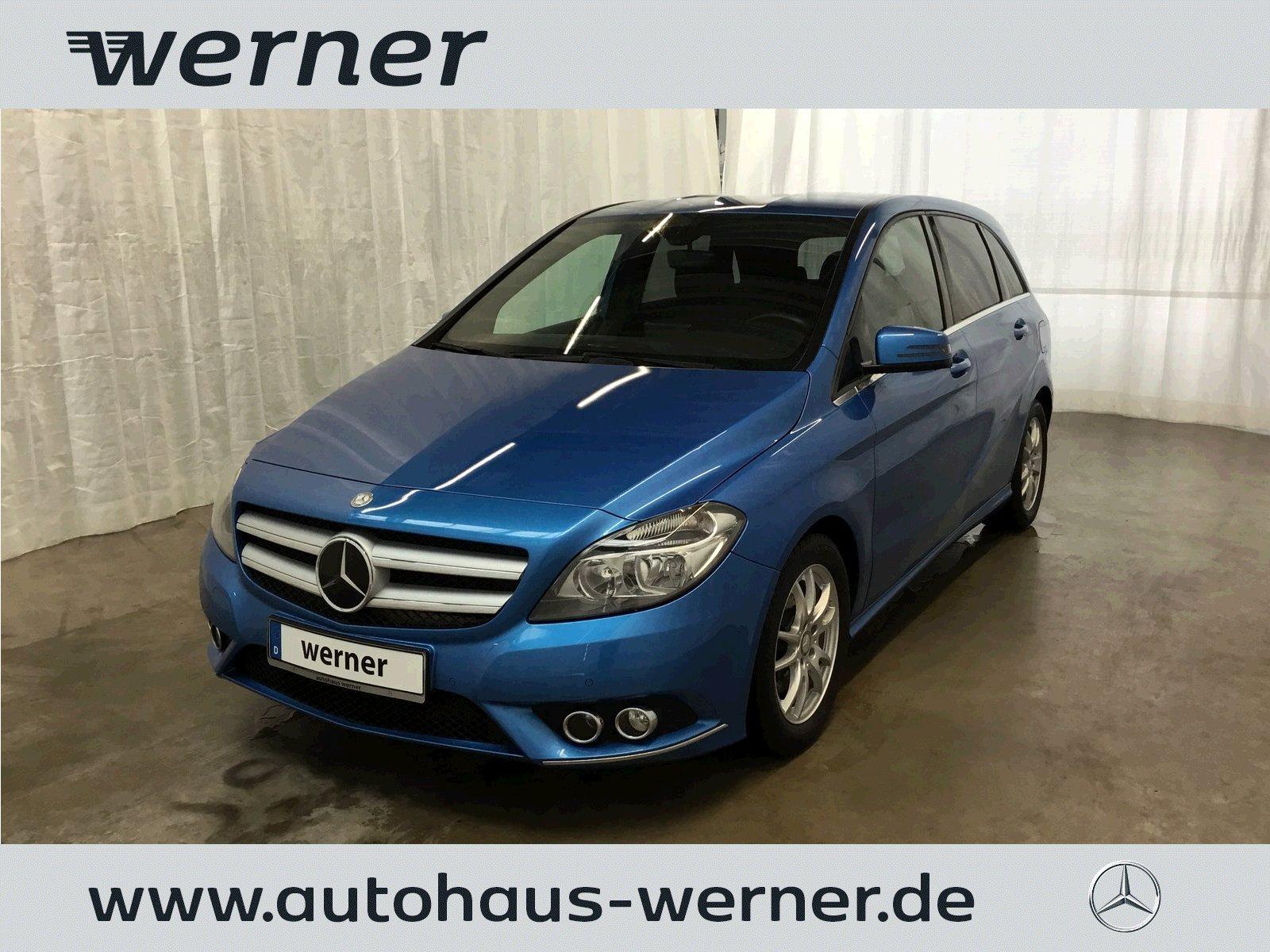 Mercedes-Benz B 200 CDI Sport+AHK+Park+Licht+Sicht+Sitz+WDGlas, Jahr 2013, Diesel
