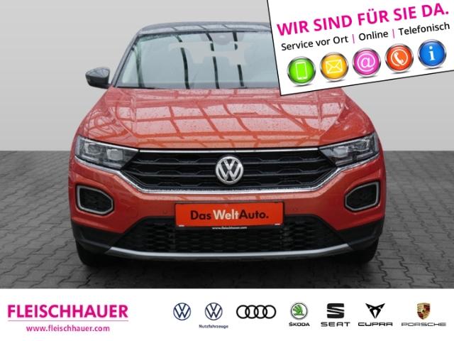 Volkswagen T-Roc IQ.DRIVE 1.5 TSI ACT LED KLIMA SHZ PDC, Jahr 2019, Benzin