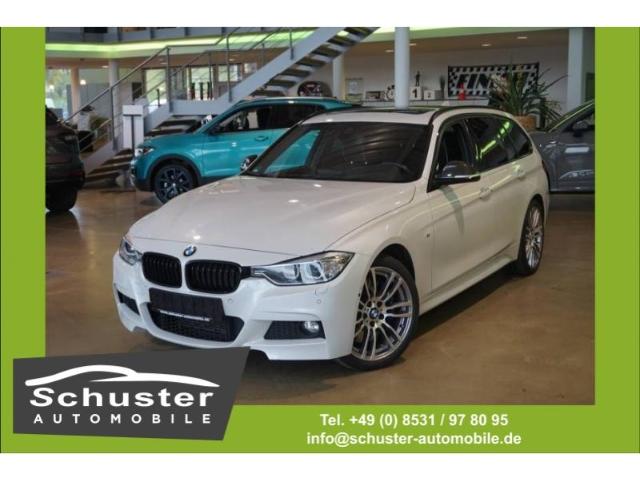 BMW 335 i xDrive Touring Autom. Active Hybrid M-Paket, Jahr 2013, petrol