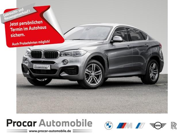 BMW X6XD35I MSPORT+ADAPT-LED+HEADUP+LED+NAVI+GLASDA., Jahr 2017, Benzin