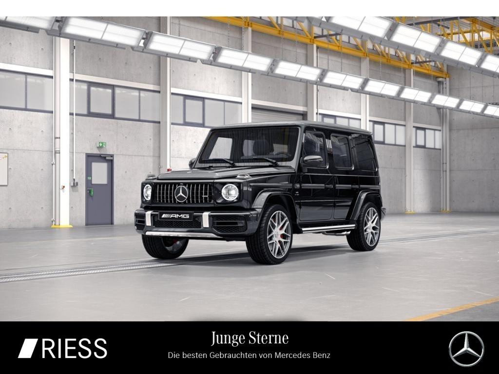Mercedes-Benz G 63 AMG Distr Burmester Schiebe AHK Wide 360 22, Jahr 2021, Benzin