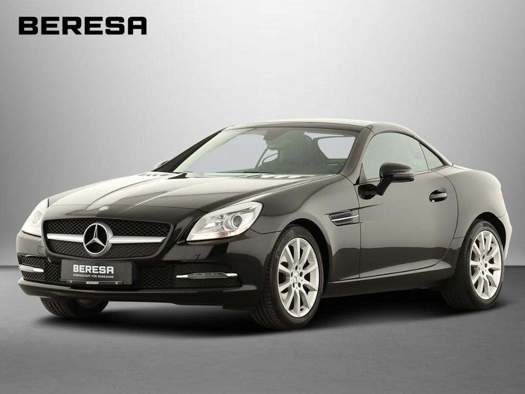 Mercedes-Benz SLK 200 Navi Pano.-Dach Airscarf Sitzheizung, Jahr 2013, petrol